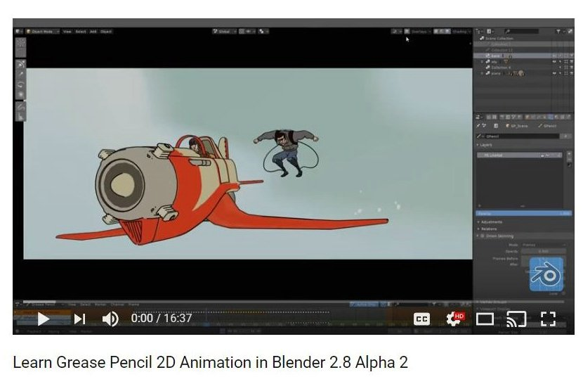 MC2 is BackUP: Learn Grease Pencil 2D Animation in Blender