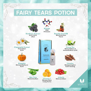 FAIRY TEARS POTION BY MERVE