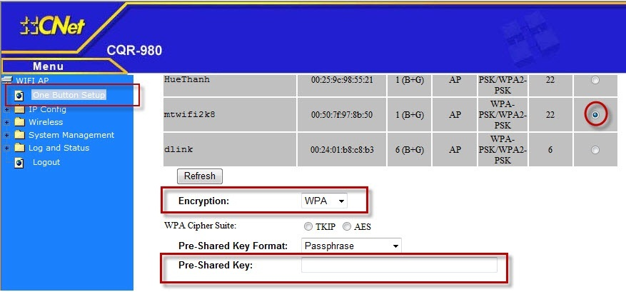 Wpa-tkip key generator