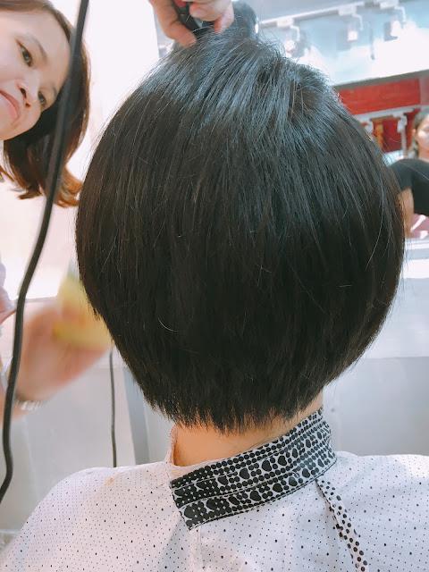 Kawaii : cắt tóc ngắn Nhật Bản xong chị gái thề trung thành với tay kéo Korigami