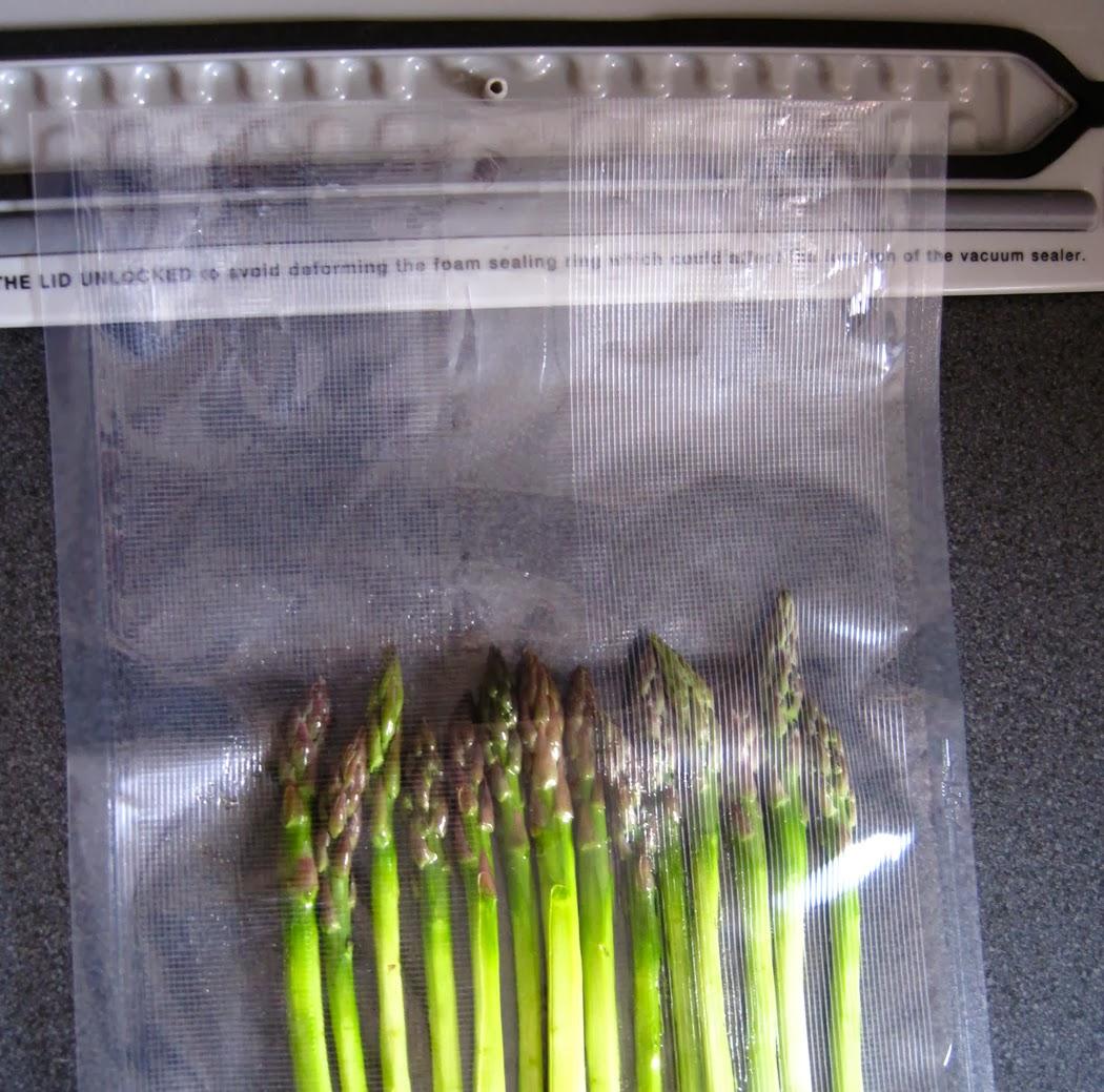 Vacuum Asparagus