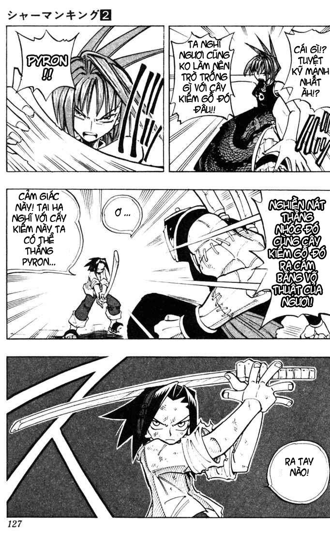 Shaman King [Vua pháp thuật] chap 14 trang 21