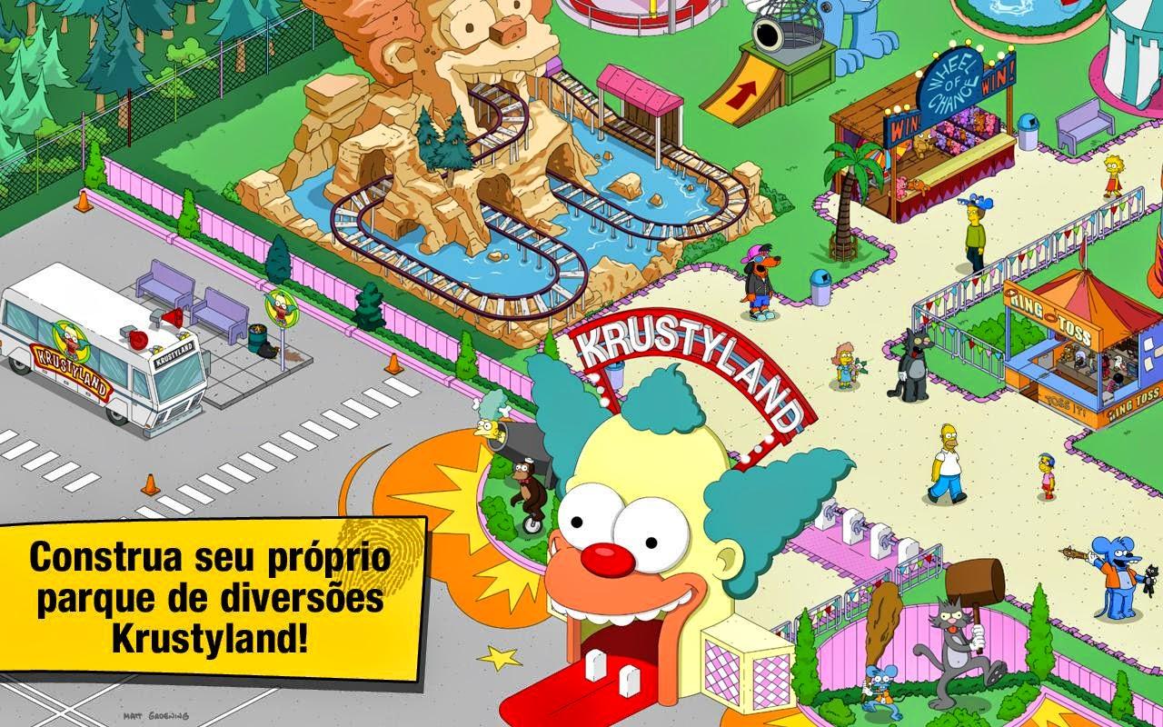 Download The Simpsons™: Tapped Out Apk