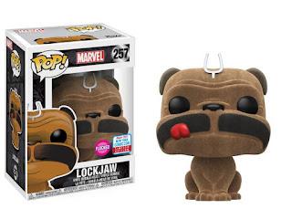 Pop! Marvel: Inhumans – Flocked Lockjaw.