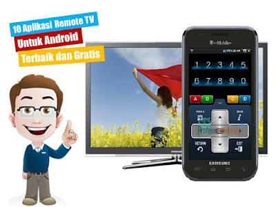 10 Aplikasi Remote TV Untuk Android Terbaik dan Gratis
