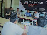 PKBH-HTI Sulsel Kopdar Bersama Sejumlah Advokat di Makassar Bahas Isu Pembubaran HTI