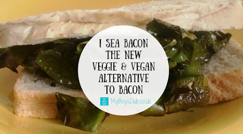 I sea bacon - the vegetarian & vegan alternative to bacon (REVIEW)