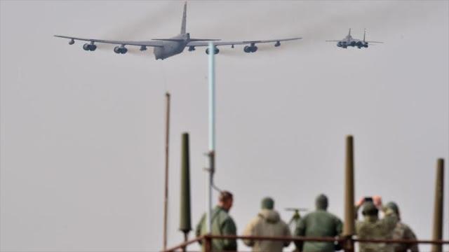 Bombardero nuclear estadounidense pierde un motor en pleno vuelo