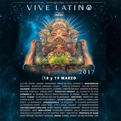 artistas vive latino 2017