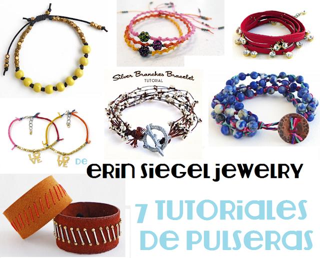 pulseras, brazaletes, manualidades, bisutería, diys