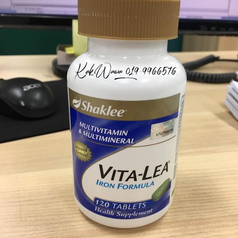 Vitalea Shaklee Mengandungi 28 Jenis Nutrisi Penting
