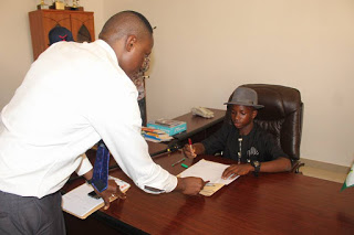 SS1 Student (14years) Becomes Commissioner In Bayelsa, Assumes Office (See Pictures)