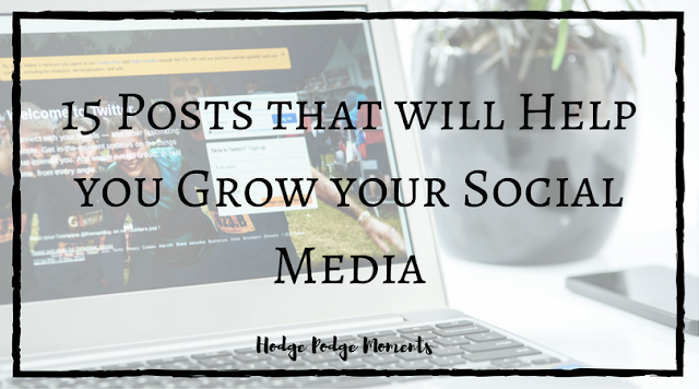 15 Posts that will Help you Grow your Social Media