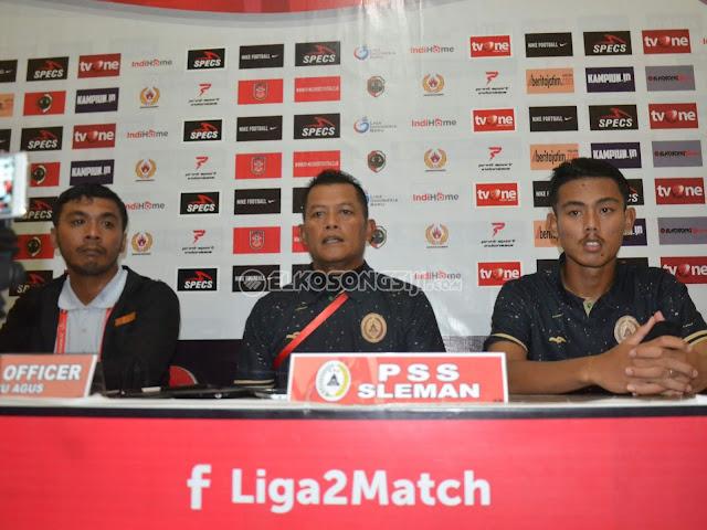 Tumbang 2-1 Atas PS Mojokerto Putra, PSS Sleman Mengaku Fokus ke Babak 8 Besar
