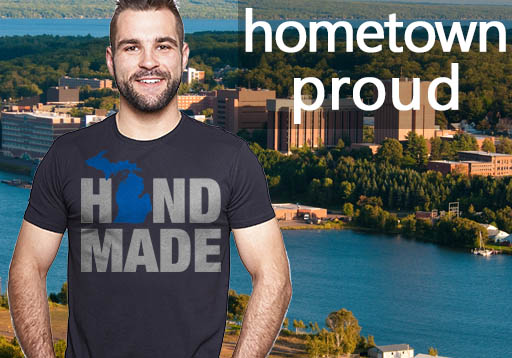 Hometown Proud hand made design