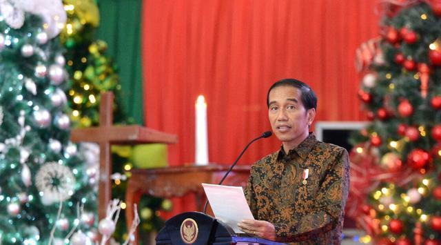 Hadiri Perayaan Natal di Minahasa, Jokowi Beri Pesan Perdamaian