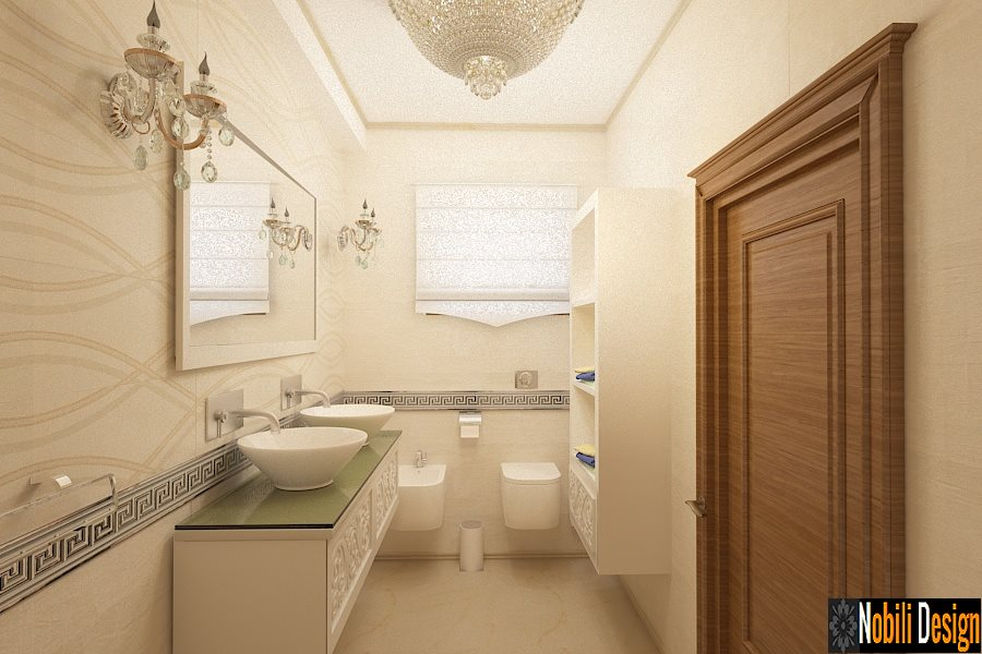 Design interior baie casa clasica Bucuresti - Amenajari Interioare - Arhitect Bucuresti