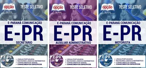 Apostila concurso E-Paraná 2017 (E-PR)