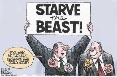 Starve the beast essays