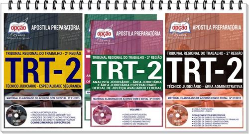 Apostila do TRT 2 Região - Tribunal Regional do Trabalho da 2ª Região (SP)
