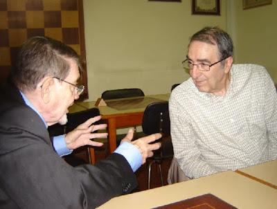 José Antonio López Parcerisa y José Antonio Coello Alonso en 2015