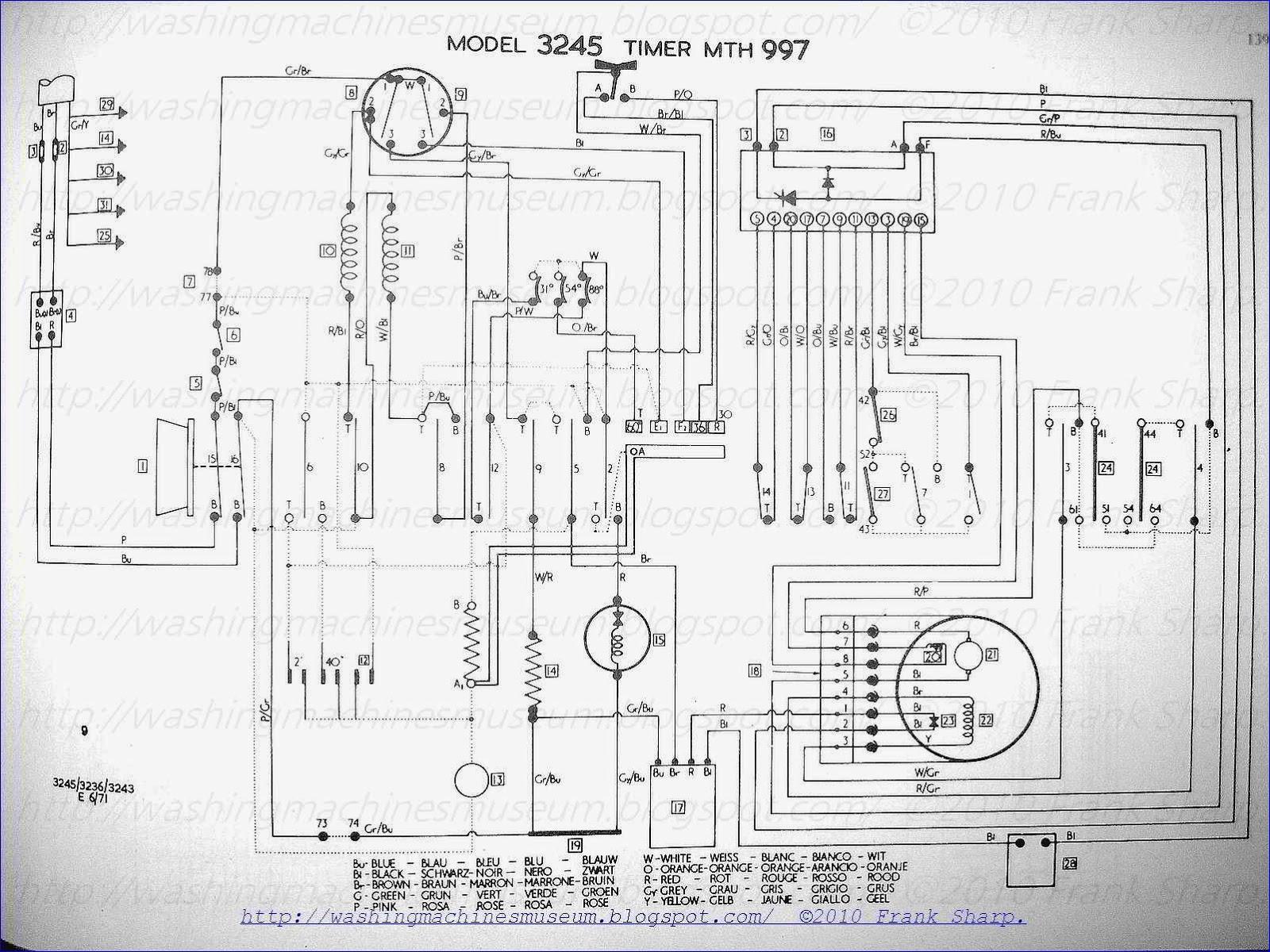 Washer Rama Museum: HOOVER MOD 3236  3243  3245