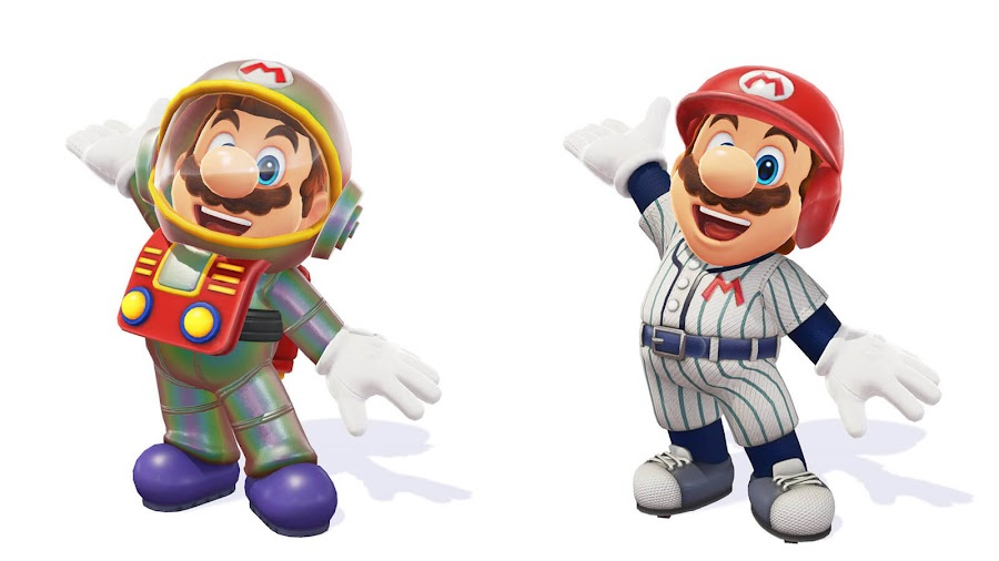 super mario odyssey new costumes satellaview baseball