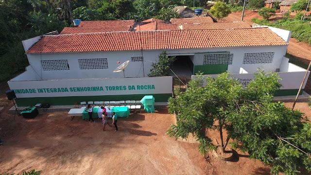 Reinauguração da Escola Senhorinha da Rocha, no povoado Maravilha