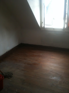 renovation project stripped wood floors