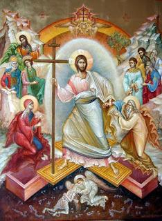 Η Ανάσταση στην ανατολική και δυτική εικόνα