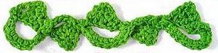 Patrón #1511: Encaje a Crochet