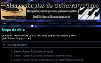 clases simples de guitarra y piano, javi29clases.blogspot.com