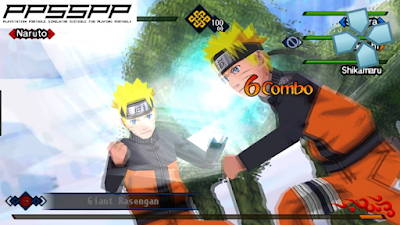 Download Naruto Shippuden Kizuna Drive ISO/CSO PSP PPSSPP High Compress For Android