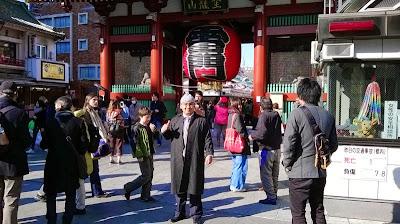 Di Kuil Asakusa Jepang