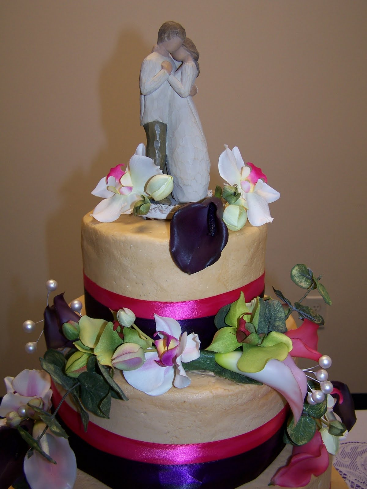 Creative Cakes N More Willow Tree Wedding Cake