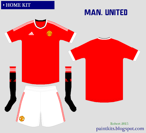 b351e28fb0a Manchester United 2015 2016 Kits - Year of Clean Water
