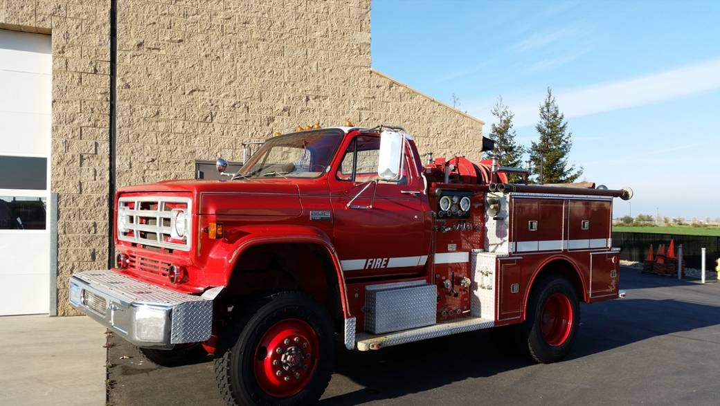 Daily Turismo 1979 Gmc Fire Truck