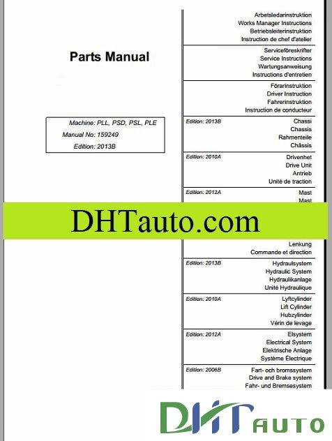 Atlet Warehouse Parts Manual Full