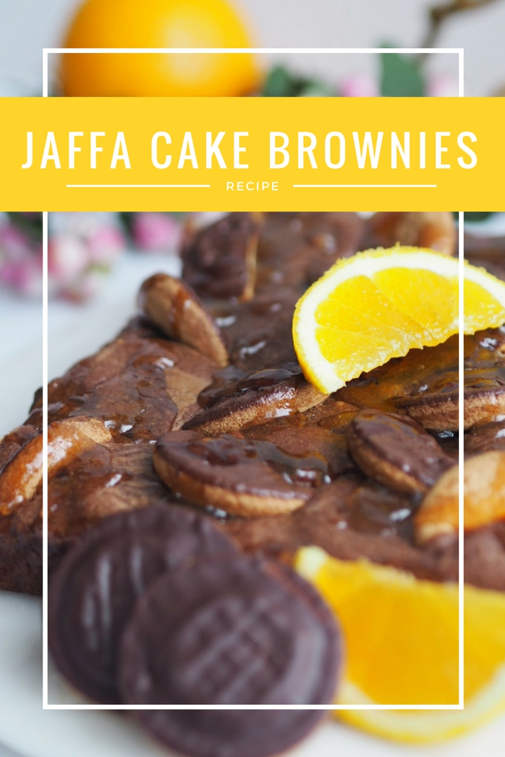 Jaffa Cake Brownies Recipe Pinterest