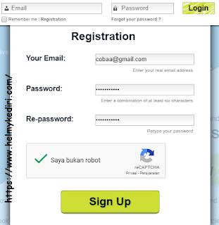 Lakukan pendaftaran