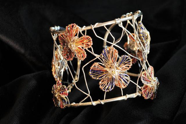 contemporary bracelet, art bracelet