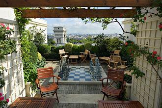 Nos Adresses : Les Jardins Plein Ciel - Terrasse rooftop de l'Hôtel Raphaël - 17, avenue Kléber - Paris 16