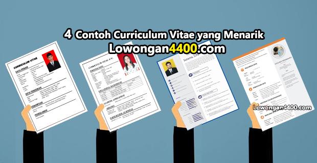 4 Contoh Curriculum Vitae yang Menarik