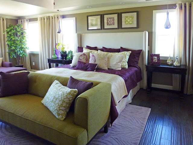 Cool Purple And Green Bedroom Home Design Hay Us With