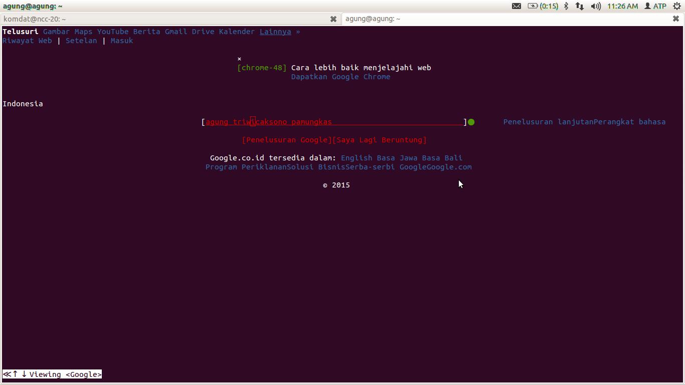Menggunakan Sintaks Linux w3m. wget. ssh. scp. rsync!   Ilmu-Berbagi