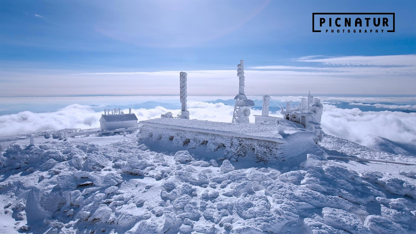 The Mount Washington Observatory in New Hampshire © Mike Theiss/Getty Images