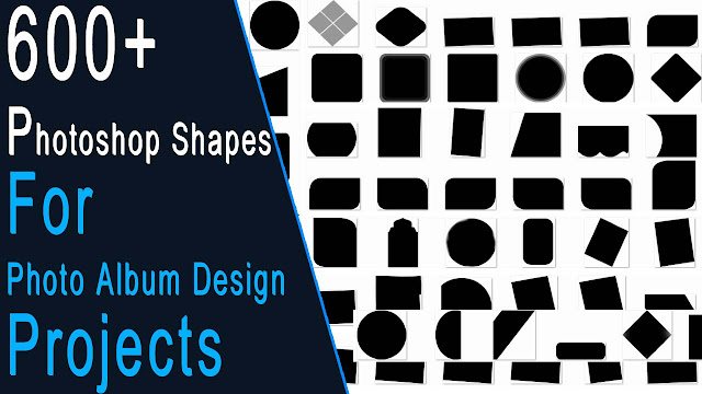 600+ Photoshop Shapes