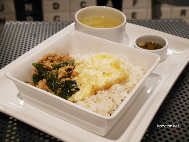 Mince Chicken with Sweet Basil and Hot Chilies - RM27