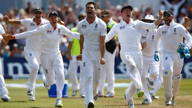 England win 1st Ashes Test
