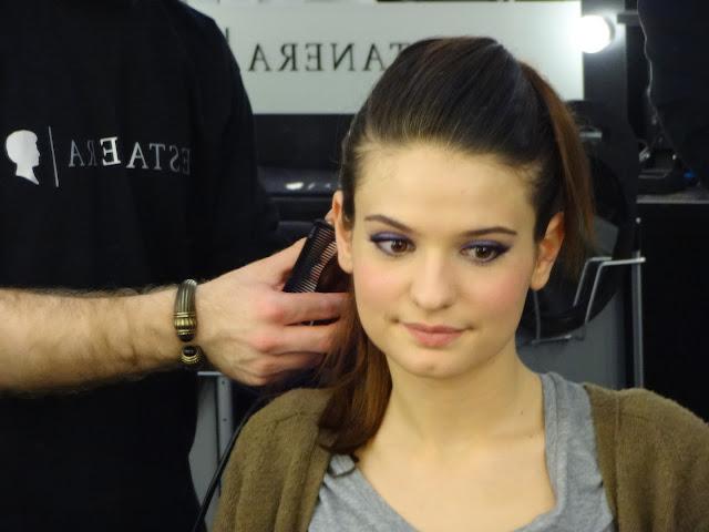 X Factor 2013 Italia terza puntata backstage Testanera Violetta